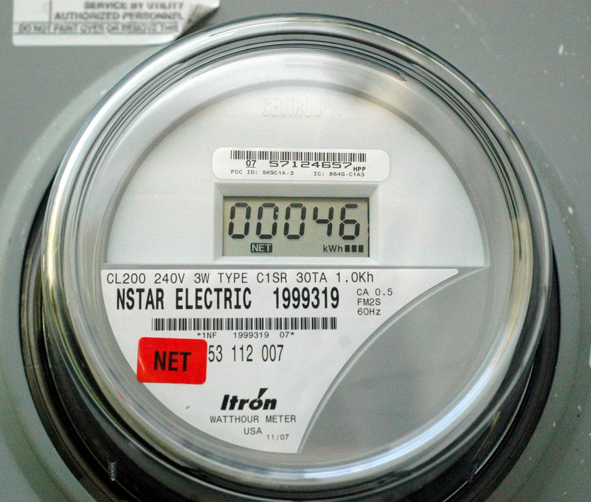 digital-type electric meter - solid state